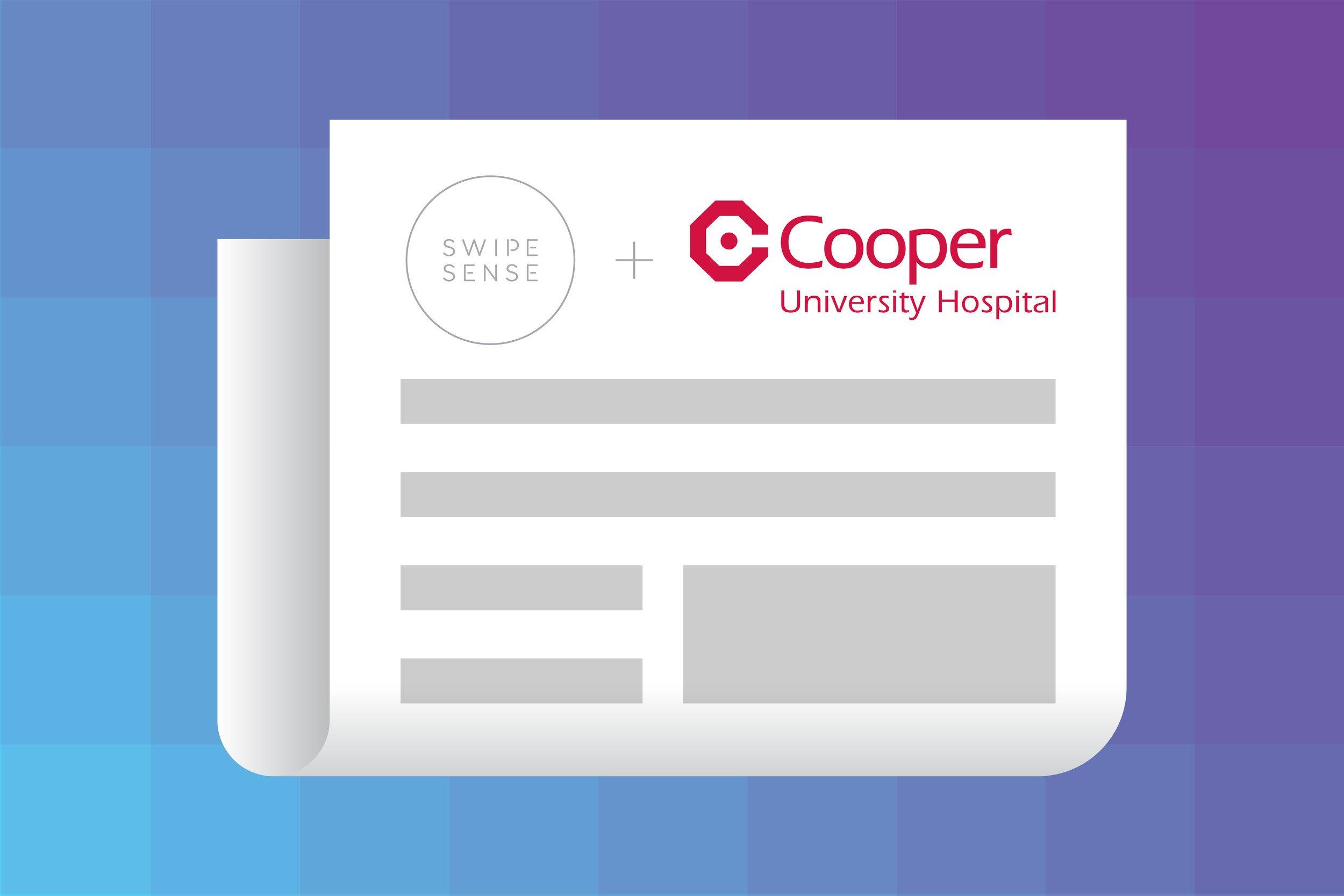 SwipeSense Announces Cooper University Health Care as New Partner