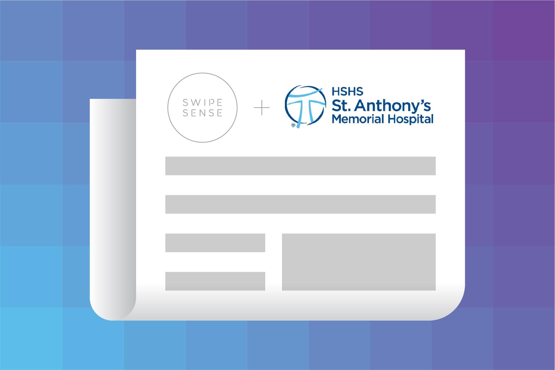News: HSHS St. Anthony's Memorial Hospital Launches SwipeSense